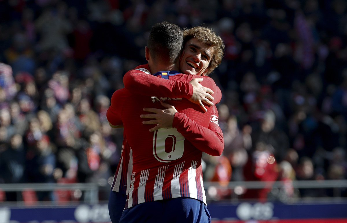Atletico Madrid vs Levante Highlights