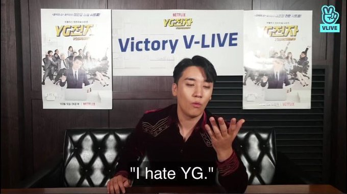 i have never hated yg this much but #SeungriDeservesBetter Фото