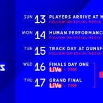 Who's going to be following the @McLarenShadow Grand Finals with us? Here's where you can catch all of the action this week. Get set for some serious esports racing action! 👊 #McLarenShadow
