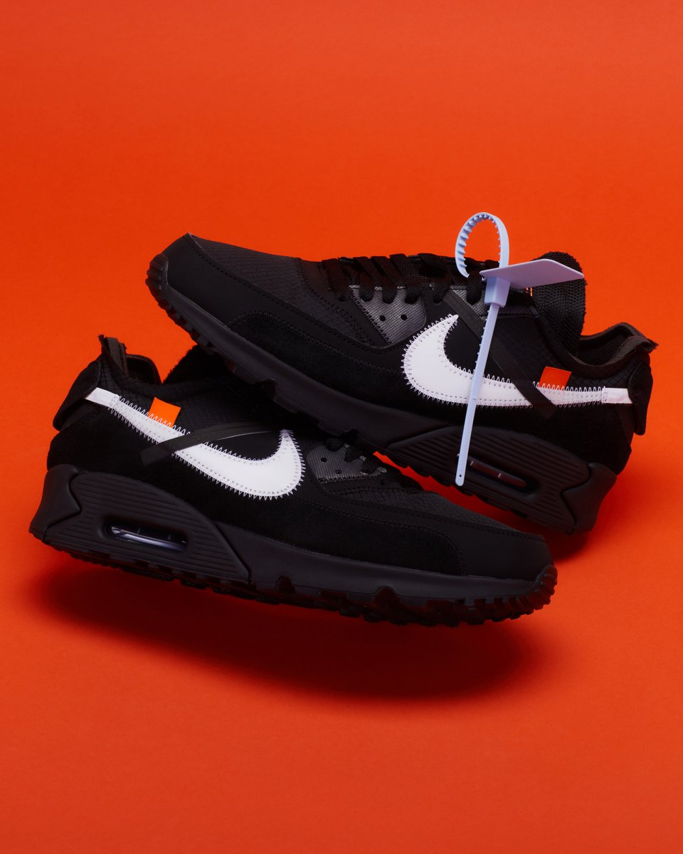 ddfd06c3 the new Air Max 90 Off-White is dangerous. Shop here: https://stockx.com/ nike-air-max-90-off-white-black …pic.twitter.com/skWZSUDz9w