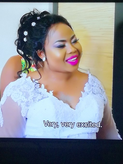 Beautiful Bride 💕 Beautiful wedding ...Mkhaya wami #OurPerfectWedding Photo