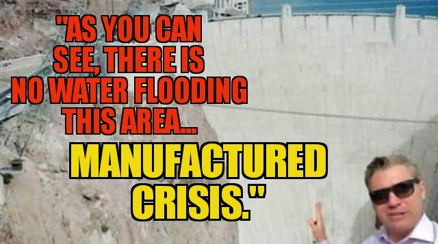 &quot;As you can see, there is no water flooding this area... Why the dam then? Manufactured crisis by Trump and GOP!&quot; - Jim @Acosta  #MAGA #tcot #FoxNews  #SundayMorning #SundayMotivation  #SundayThoughts<br>http://pic.twitter.com/M0EakNCYjF
