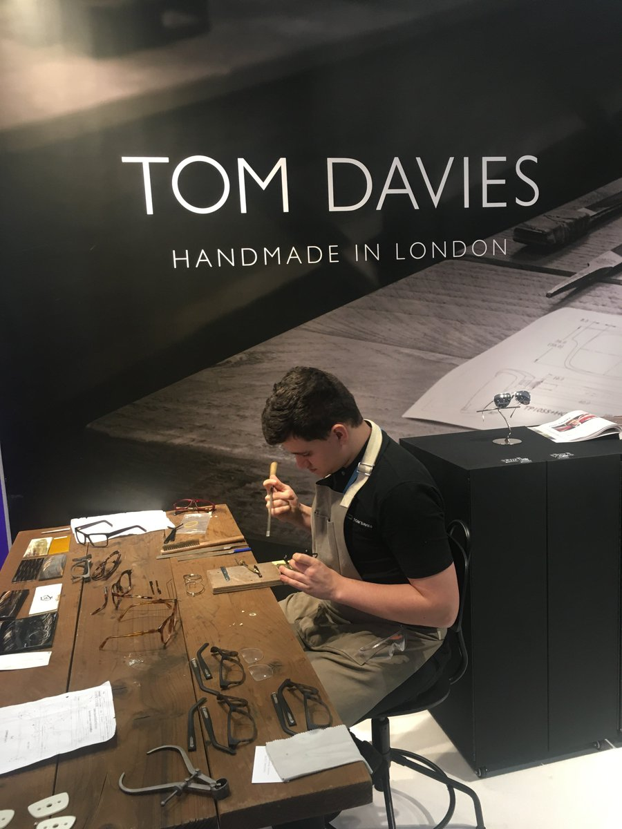 7e7a2082408 Tom Davies is a prestigious handcrafted British eyewear brand offering a  Custom - Made to Order service on all frames in the collection.