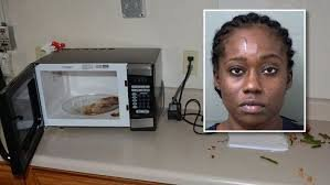 Florida woman breaks into police station, eats officer's chicken, accidentally leaves wallet behind