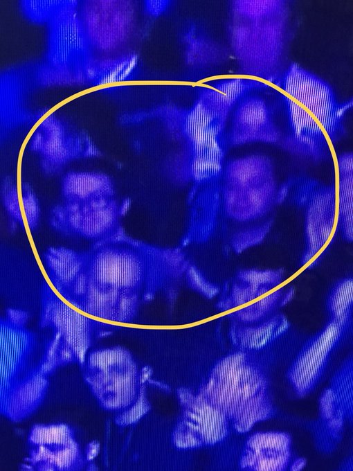 Did I just spy @jjpoconnell and @ajcdeane in the audience at the #MastersSnooker? 🤔 Photo