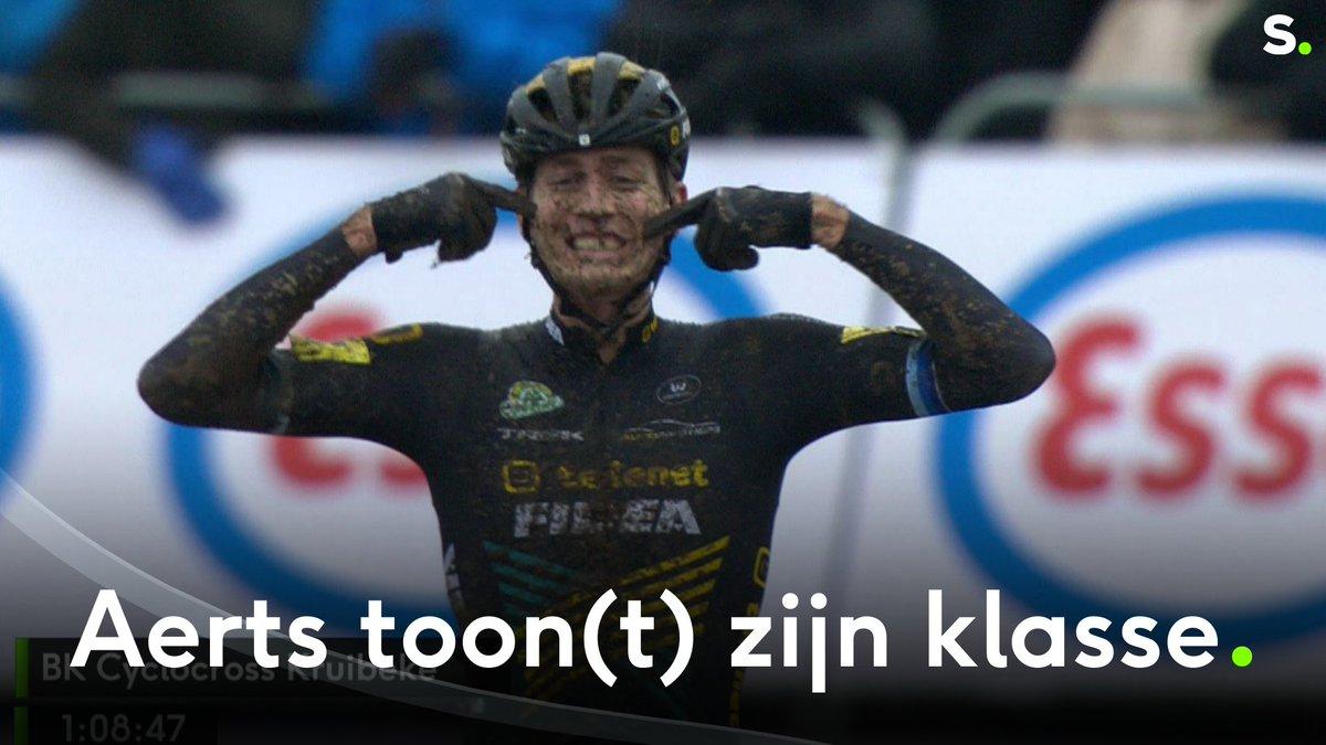 Toon Aerts is kampioen van België! #BKKruibeke https://t.co/CuU9g9hUHv
