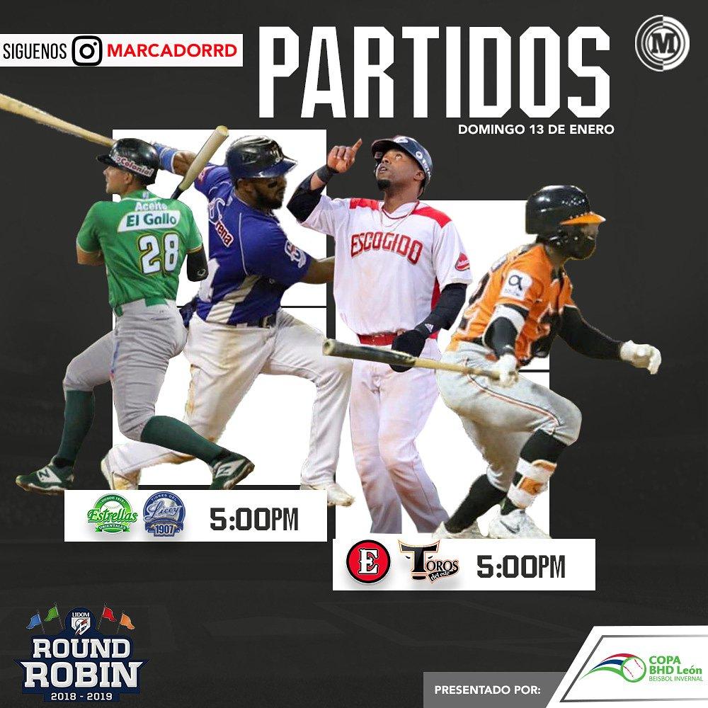 #CopaBHDLeón Juegos programados para la jornada de hoy en el Round Robin. Gracias A: @bhdleon
