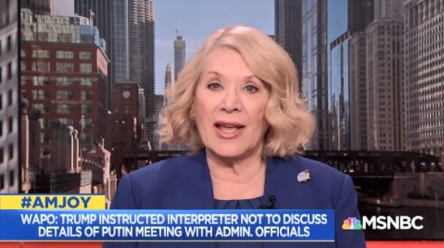 .@JillWineBanks-However much Nixon said I am not a crook &amp; he was a crook he was our crook. He was not a foreign power&#39;s crook. That is a very big difference. The fact that we have to discuss this should be very frightening to all of us...This is much worse than #Watergate #AMJoy <br>http://pic.twitter.com/CB507ggjpn