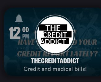 Join me today on Stationhead 12pm EST on my station THECREDITADDICT #creditrepair #creditrestoration #homebasedbusiness #startup #smallbiz #entrepreneur #credit #creditbuilding #entrepreneurlifestyle #femaleentrepreneur #solopreneur #credit #creditbuilding #credithelp