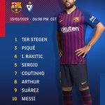 Barça XI⚽ #BarçaEibar🔵🔴 #ForçaBarça