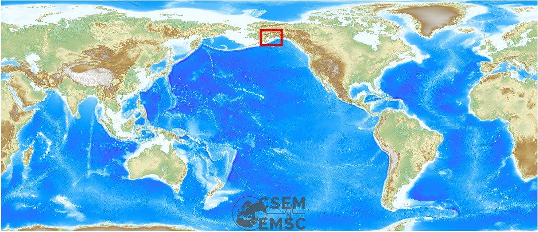 #Earthquake (#sismo) possibly felt 1 min ago in #Alaska #United States. Felt it? See https://t.co/wPtMW5ND1t