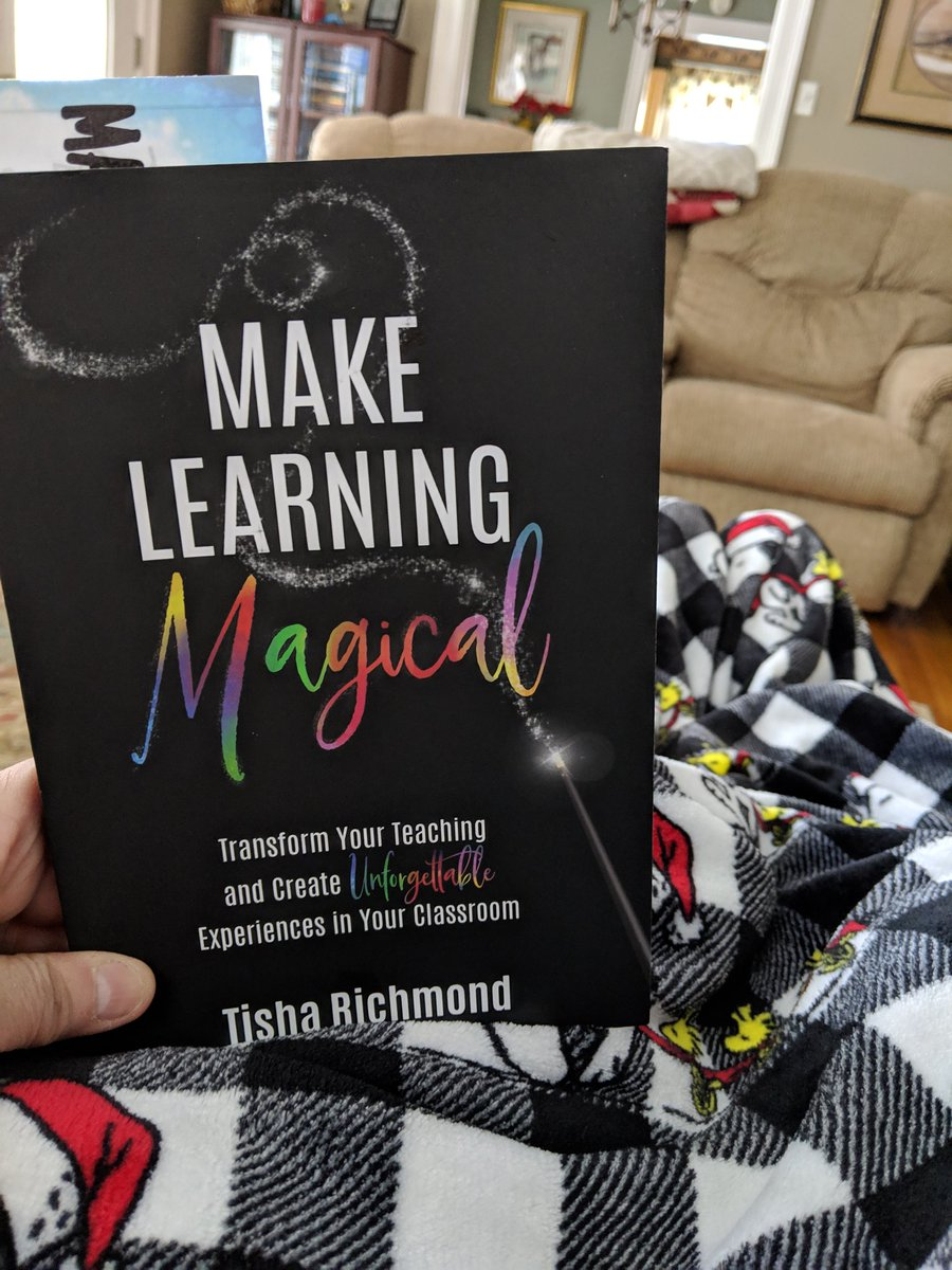 Doing a little snow/ice day reading. Make Learning Magical! 🌈📖🙂 @MBESBears @mrssalyersclass