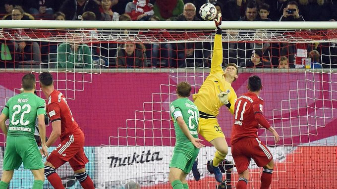 El Bayern ha obtenido el título Telekom Cup contra el Borussia Mönchengladbach, los campeones alemanes ganaron por 4-2 en los penaltis después de los 45 minutos reglamentarios. James tuvo la responsabilidad de lanzar el primer penal que anoto sin problemas. @jamesdrodriguez Foto