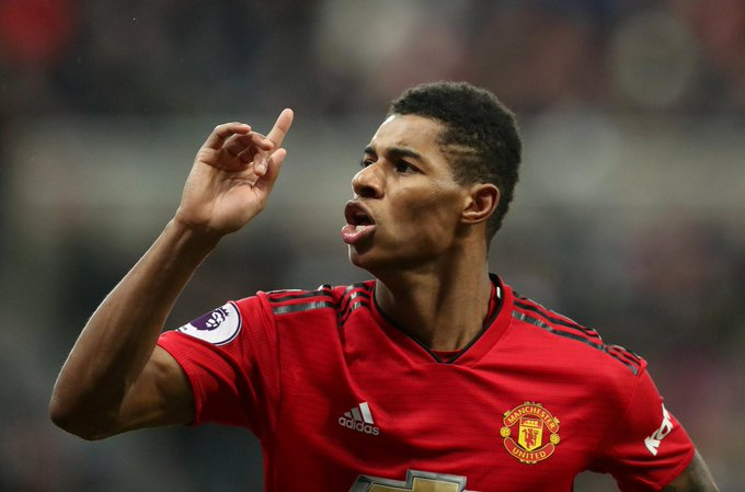 Marcus Rashford has scored in three consecutive Premier League games for the first time in his career. Firing on all cylinders under Solskjaer. 🔥 Photo