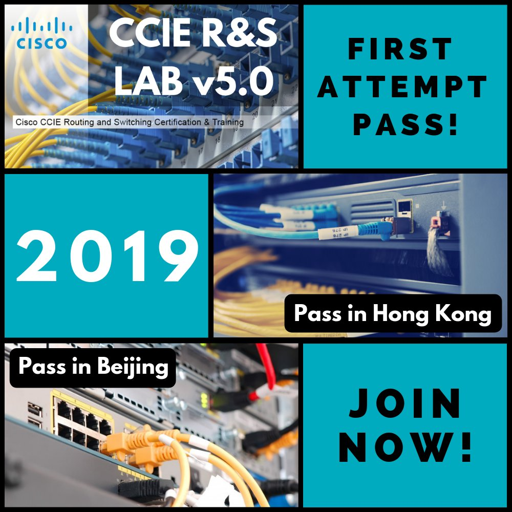 CCIE RS LAB v5 0, First Attempt PASS!