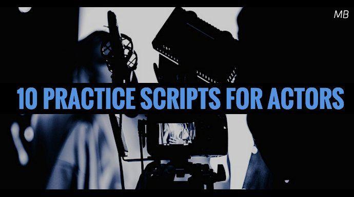 10 Practice Scripts for #Actors -  https:// buff.ly/2EyPXP1  &nbsp;   #actorsonactors <br>http://pic.twitter.com/XwMgTdfUrf