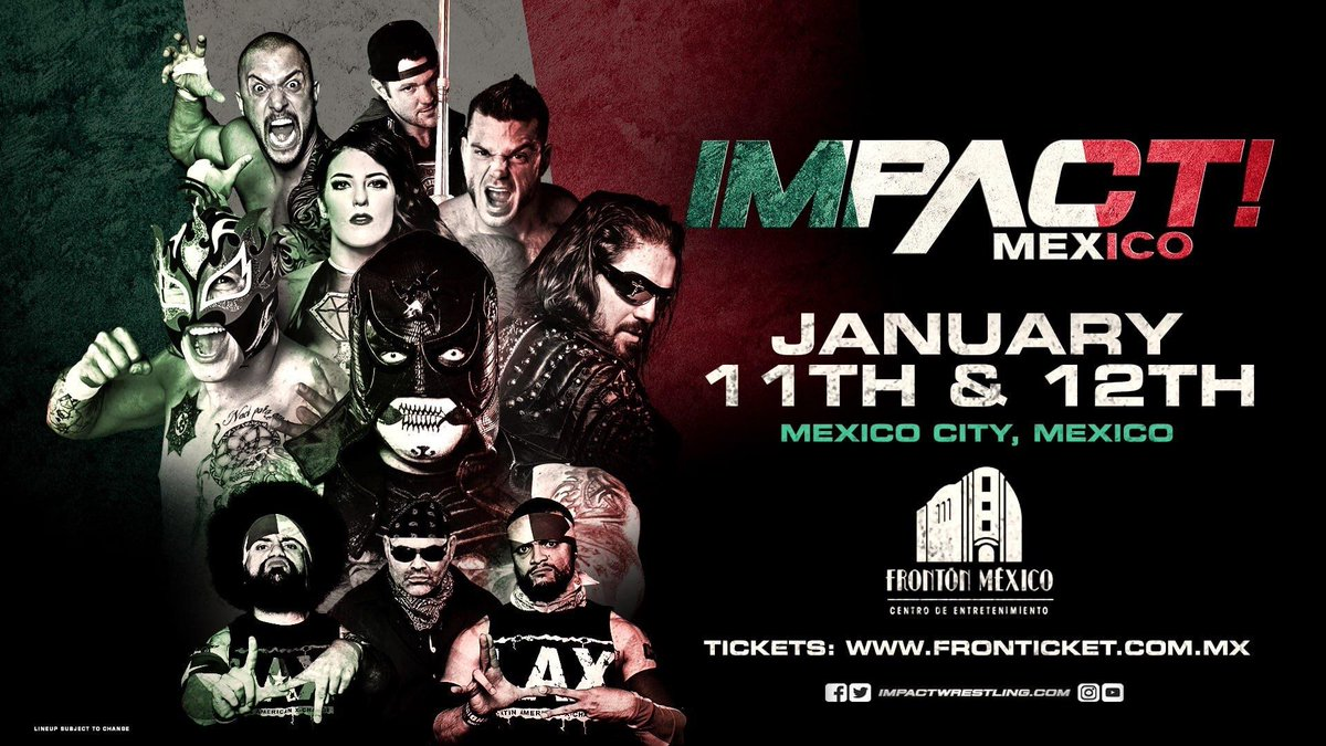 ** SPOILERS ** Impact Wrestling Tapings For 1/25 And 2/1