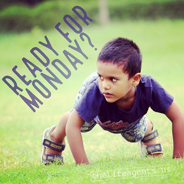 Monday is ready for you! What's your plan? http://www.thelifeagents.us #lookingforleaders #monday #ruready4monday? #thisgoodlife #mondaymotivation #happymonday #grind #hustle #entrepreneur #money #ambition #significance #entrepreneurship #pin http://bit.ly/2WoZ8Y0