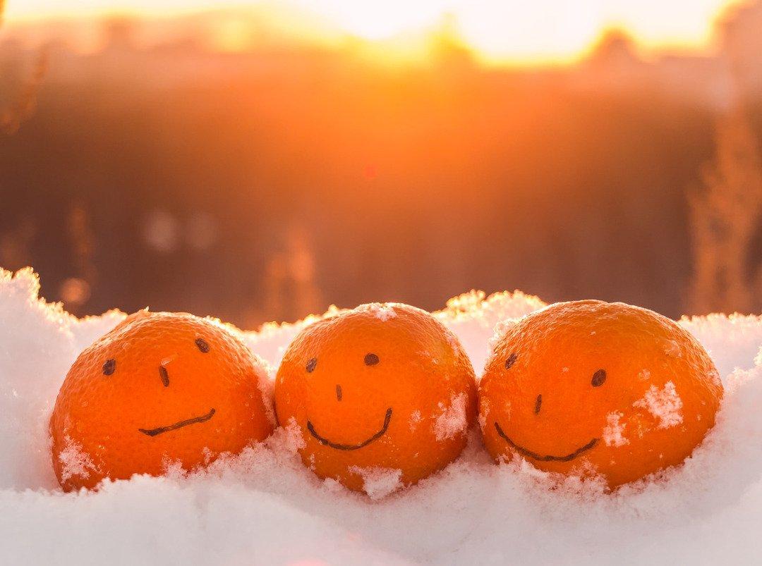 картинки доброе утро позитивные красочные природа зима голубой дырой есть