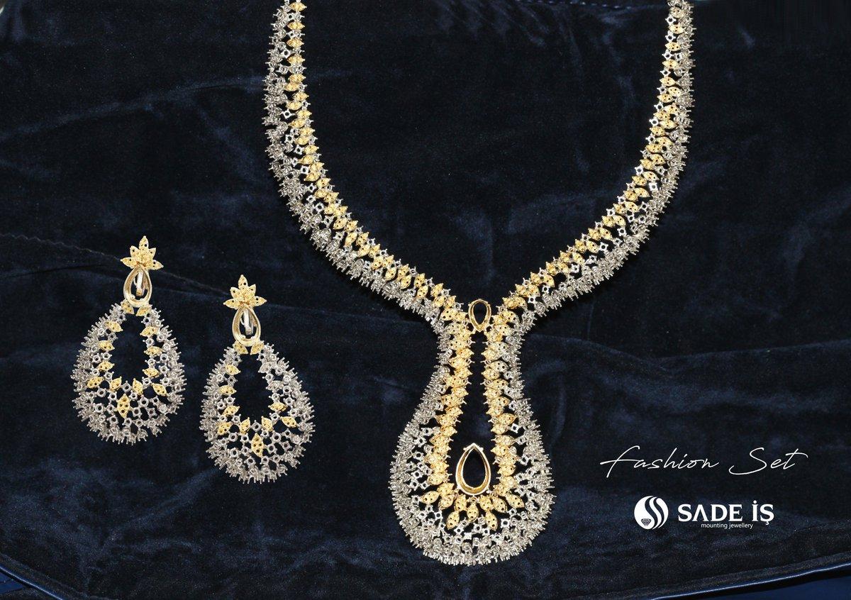 #jewellery #jewellerydesign  #goldset #montür #weddingjewellery #luxuryjewels #luxuryjewellery #handmadejewellery #indianjewellery #vicenzaoro #iranjewelry #bakujewellery #antwerpjewelry  #newyorkjewelry #dubaijewellery #dubailuxury #bakuluxury #fashionjewellery #weddingjewellerypic.twitter.com/k2P1owt0ux