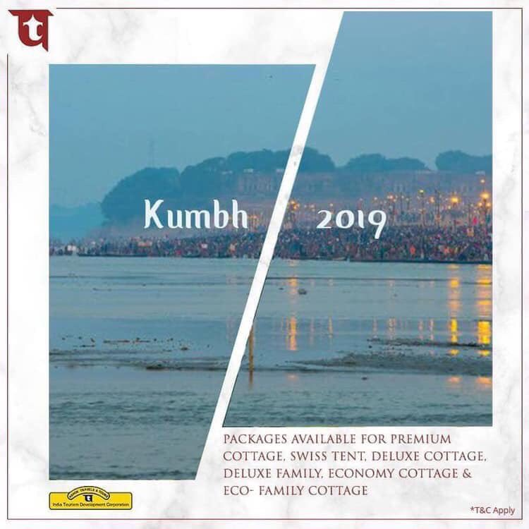 Ashok Travels and Tours brings you customised travel package to Kumbh Mela 2019, the largest gathering of people for a pilgrims bathe in the world. http://bit.ly/2vybKCg  Contact: tours@attindiatourism.com  #ITDC #ATT #AshokTravelsAndTours #KumbhMela2019 #KumbhMela #Travel