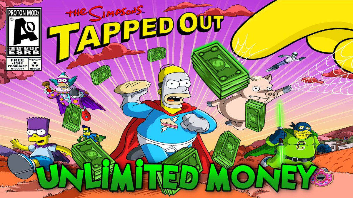 the simpsons tapped out mod apk unlimited donuts and money 2019