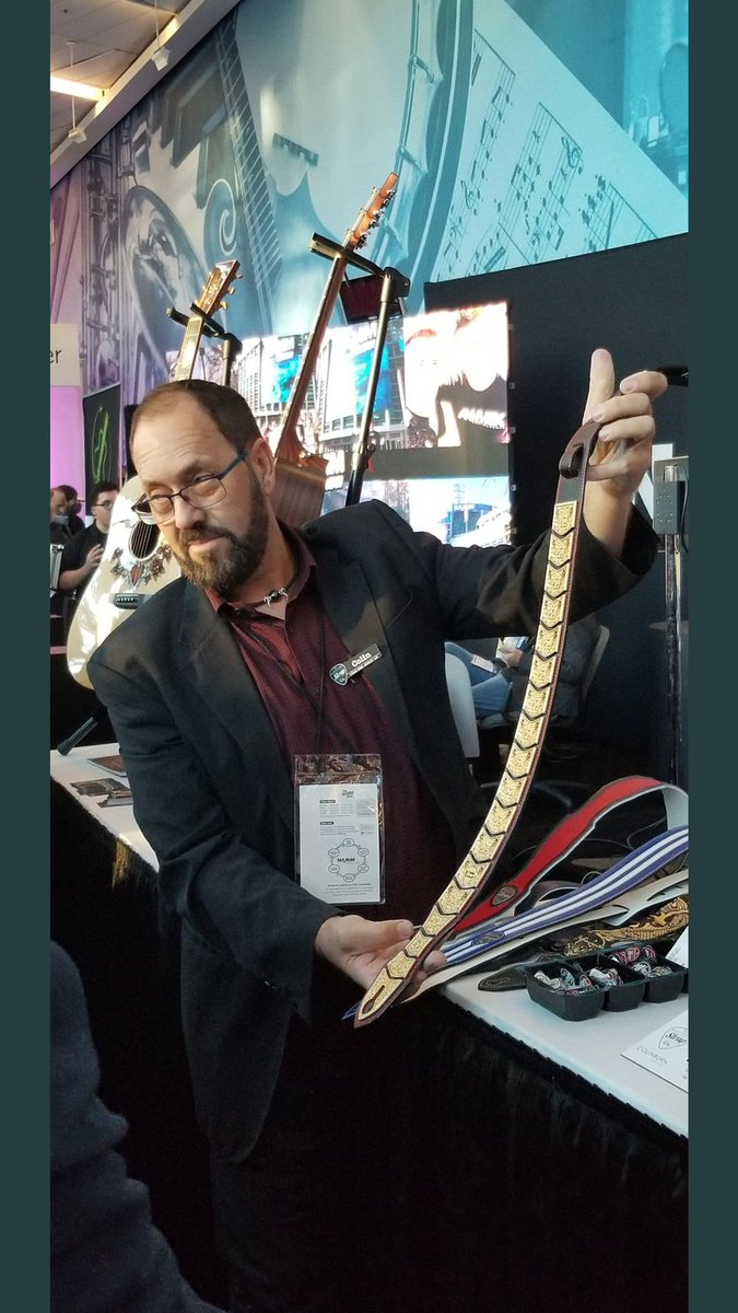 ...  guitar strap worth  1.2 million   we could see it at a big awards show  on a well known  artists  RockAndRoll  RockAndPop  countrymusic  music ... fa8dab83c1e1