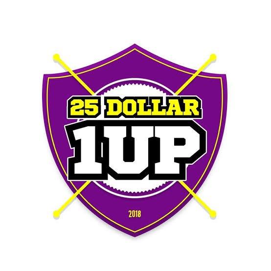 25dollar1up hashtag on Twitter
