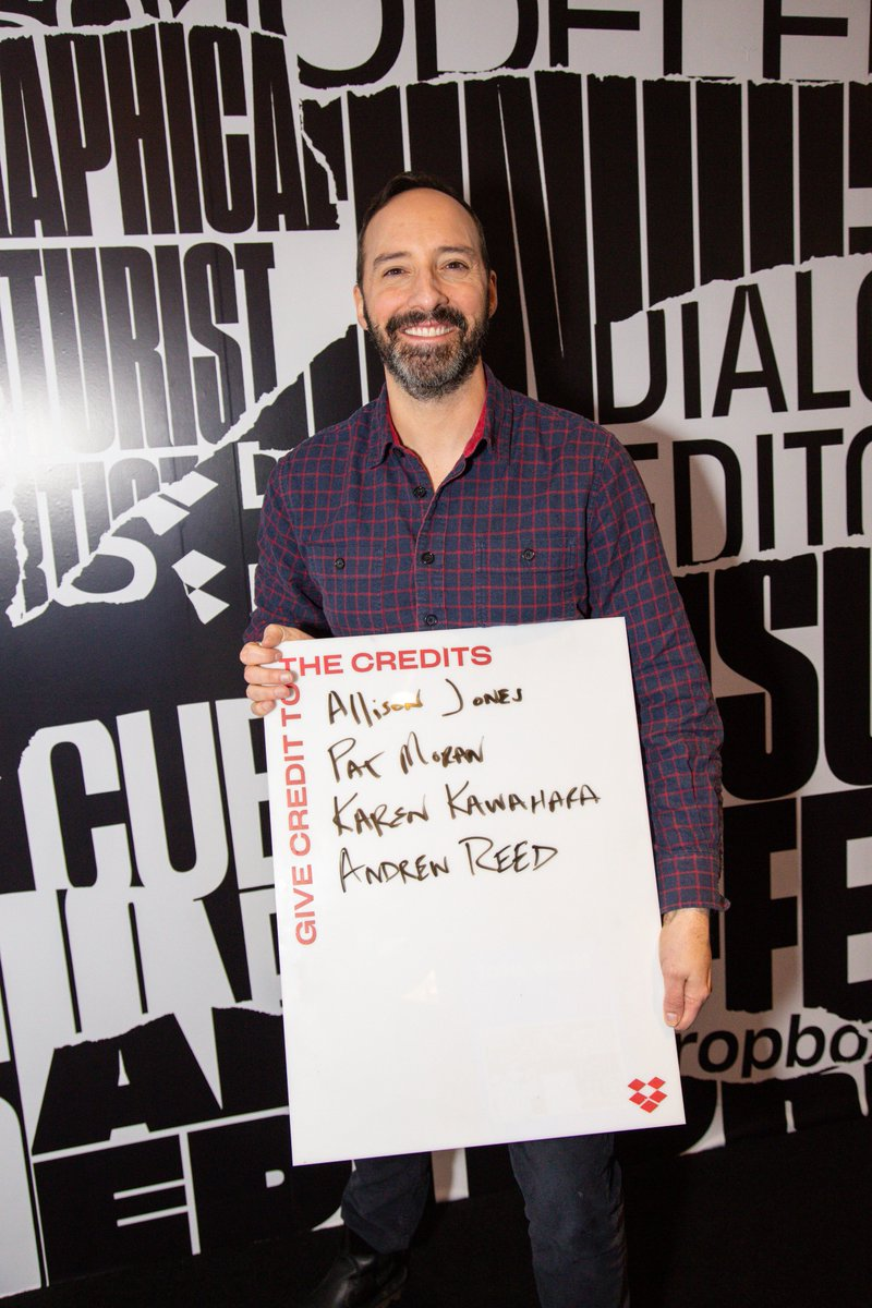 When you can't pick just one person to #givecredit to while at the @IndieWire Studio, make a list! #Sundance