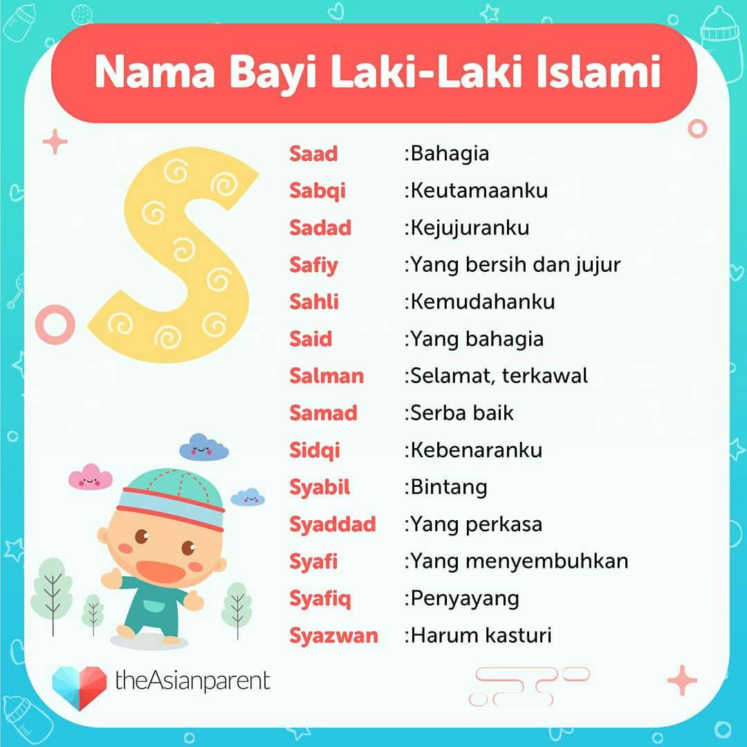 Nama Laki Laki Islam Dari Huruf R