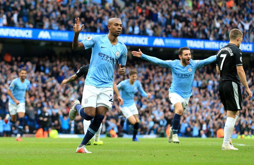 Manchester City 5-0 Burnley Highlights