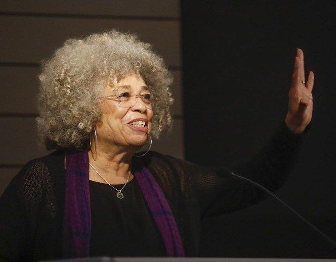 Happy Birthday to activist-scholar and freedom fighter, Angela Davis.
