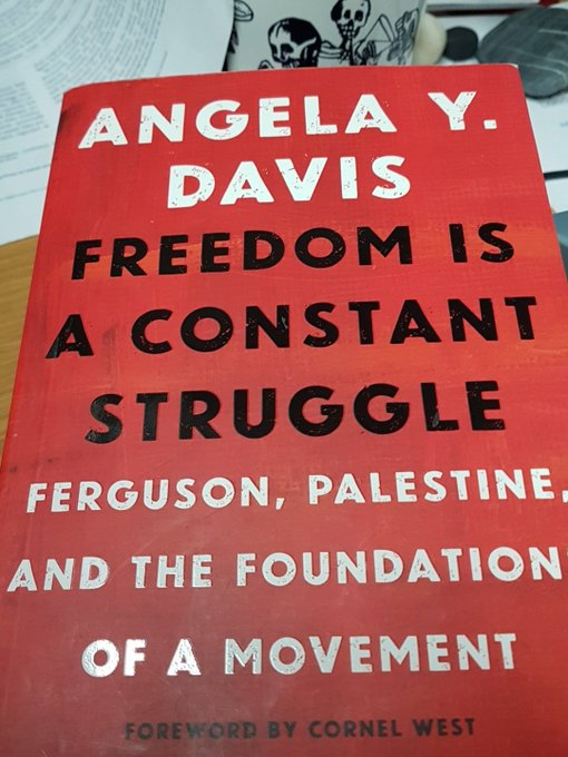 A happy birthday to Angela Davis, 75 today.