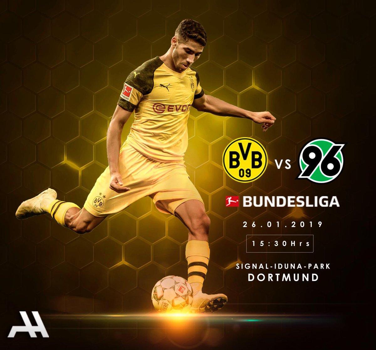 🏆 Bundesliga  🆚 Hannover 96 🏟 Signal Iduna Park 🗓️ Saturday, January 26th ⏰ 15:30 ⚽️🐝 #BVBH96