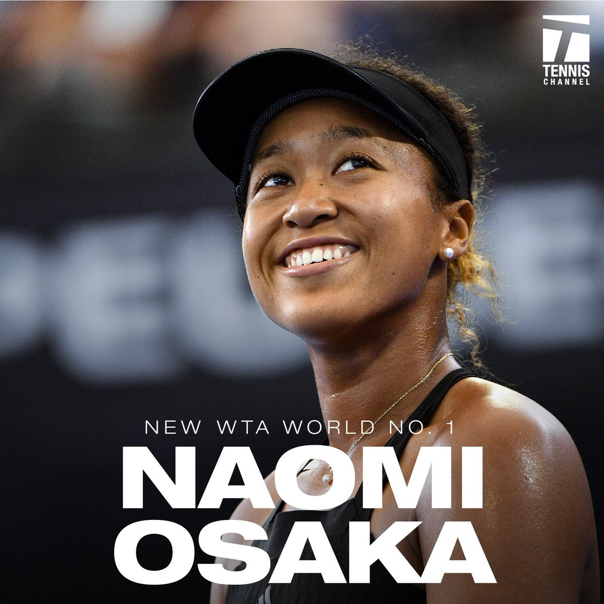 January 2018: No. 72 January 2019: No. 1  Congratulations to the first-ever Asian World No. 1, @Naomi_Osaka_.  #AusOpen