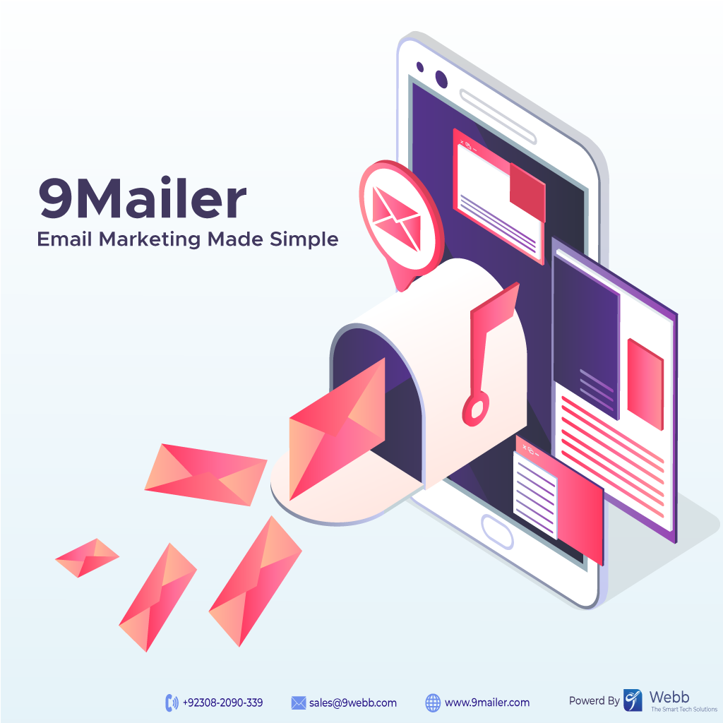 The Most Simple and Powerful Way to engage your contacts with Email Campaigns. Create Successful Campaigns with 9Mailer.   https:// bit.ly/9WebbOfficial      | sales@9webb.com | +92346 1871 560 |  #9Webb #9Mailer #Webhosting #BrandedSMS #SMSmarketing #EmailMarketing<br>http://pic.twitter.com/JWrHRATBmn