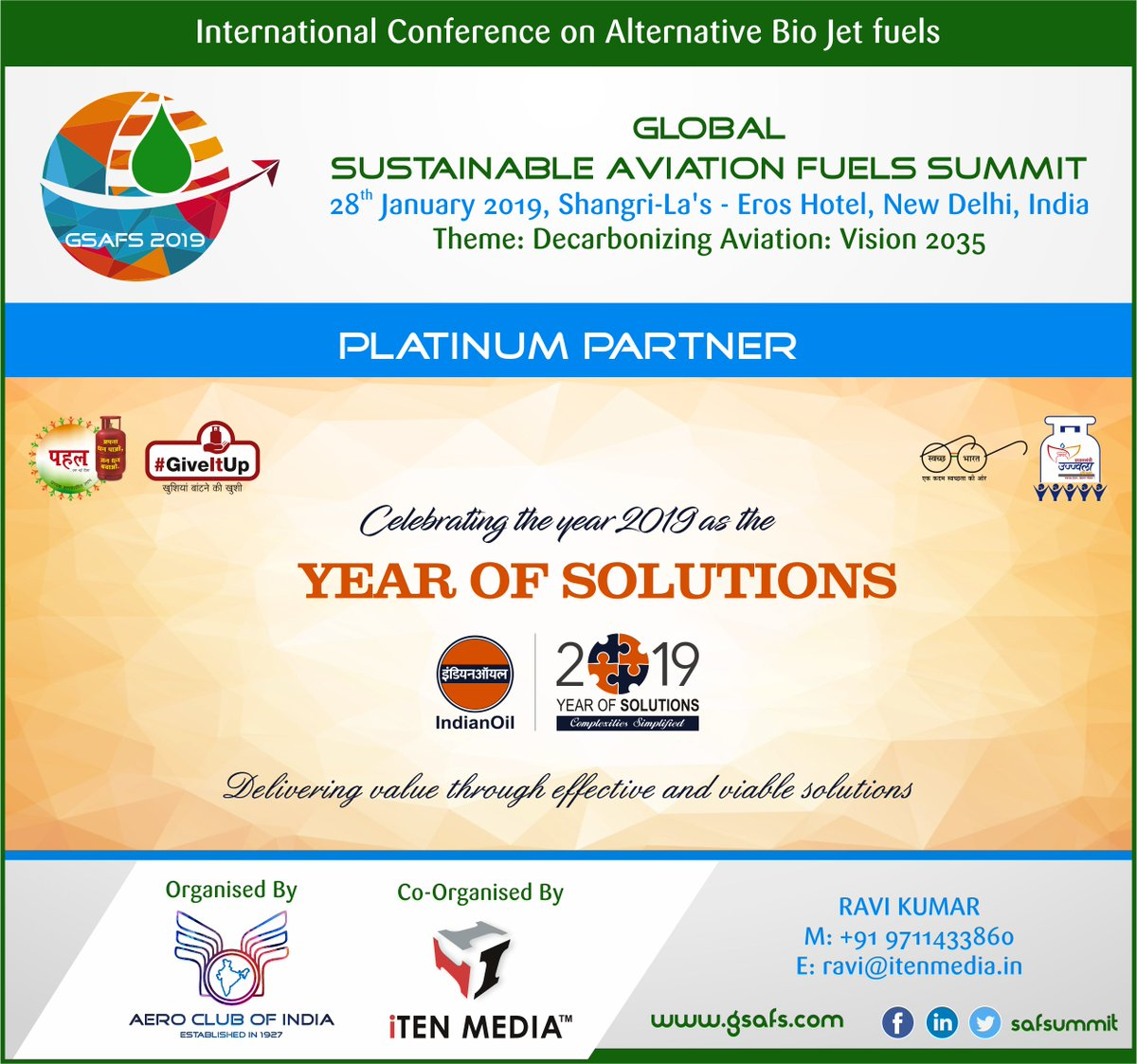 Global Sustainable Aviation Fuel Summit 2019 (@safsummit) | Twitter