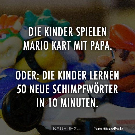 Kaufdex On Twitter Die Kinder Spielen Mario Kart Mit Papa