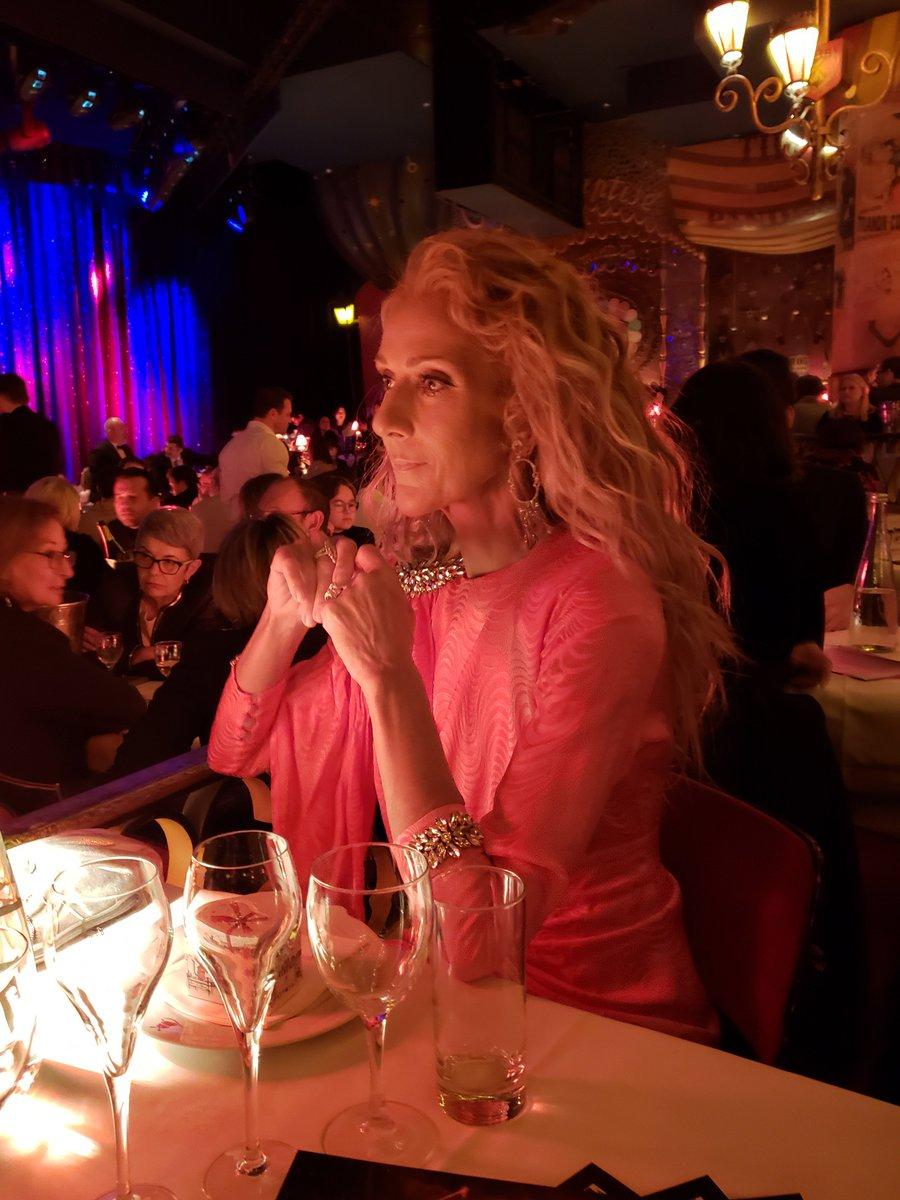 Fascinée par la beauté du Moulin Rouge ✨ // Fascinated by the beauty at Moulin Rouge ✨- Team Céline   📸 : Dee Amore Marti  & Best Image