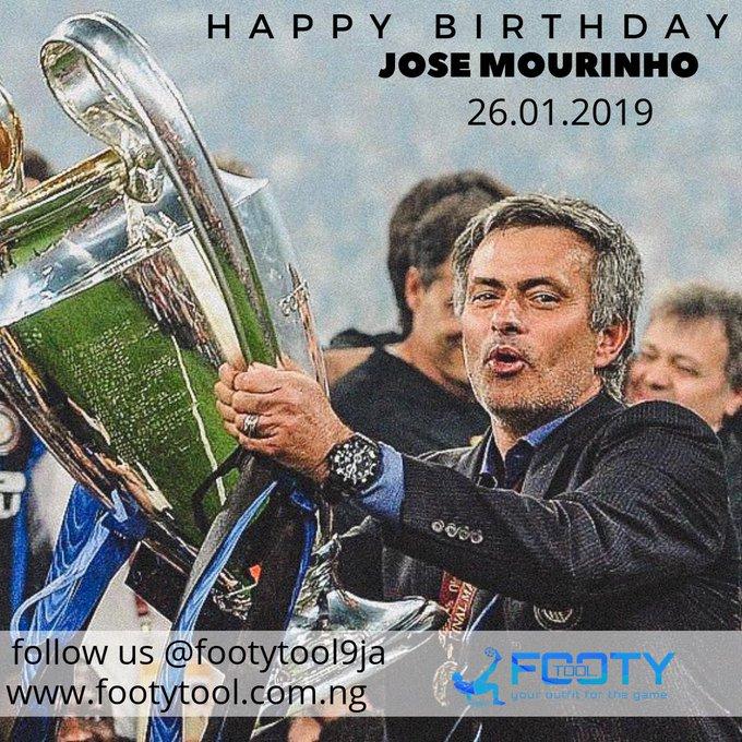 Happy 56th Birthday Jose Mourinho The Special One