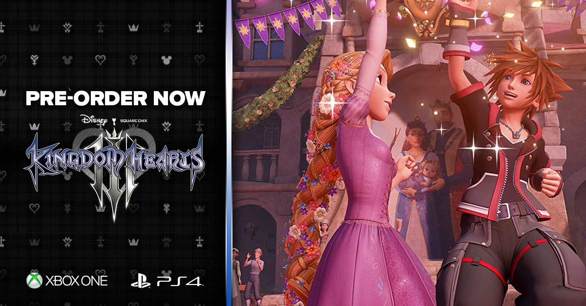 Explore your favorite Disney and Pixar worlds in #KingdomHearts III. https://t.co/2Gl5XfevF8
