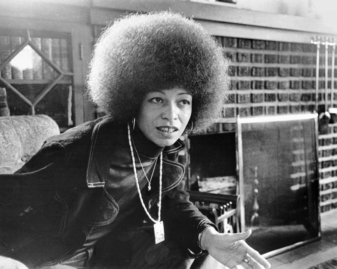Happy birthday angela davis!! you changed my life and i love you