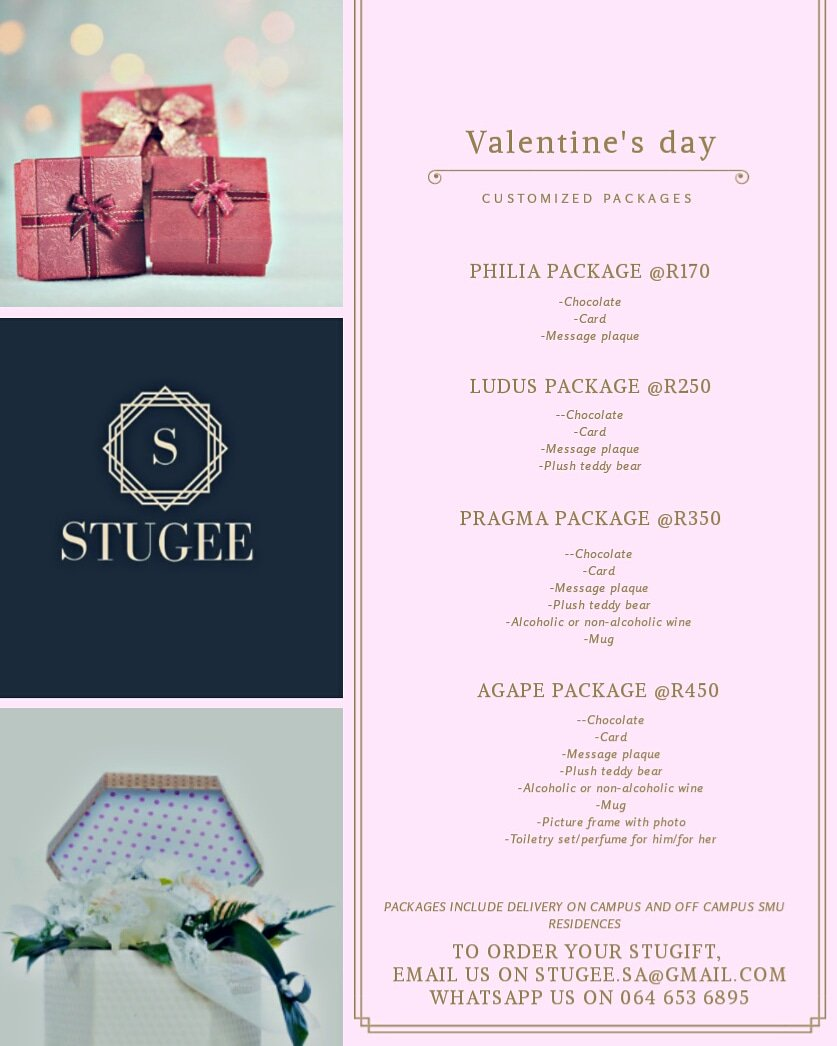 Rea On Twitter Dumelang A Friend Of Mine Based In Pretoria Has A Gift Package Business And Has Valentines Day Gift Packages They Re Different Valentine S Love Packages To Cater To Your Needs Prices Are On