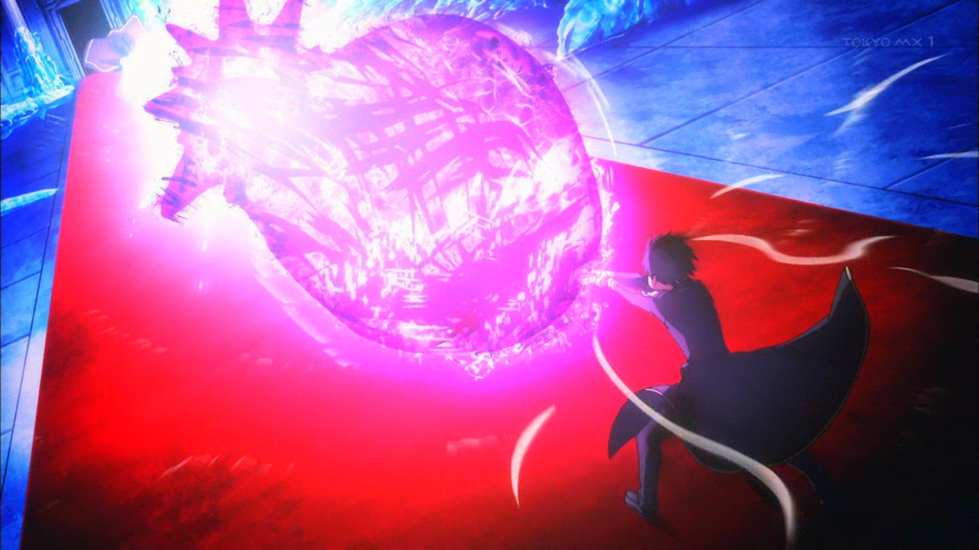 ついにキリトさんも剣からビーム出せるようになりましたか #sao_anime https://t.co/RwR38NK2j3