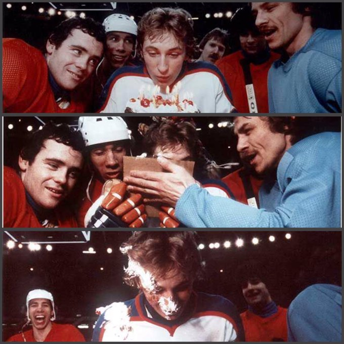 1/26/1979 Happy 18th birthday Wayne Gretzky!! Now you can drink BEER!