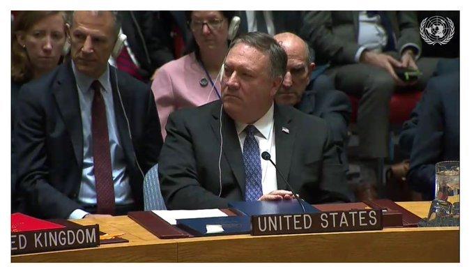 Заседание СБ ООН по ситуации в Венесуэле