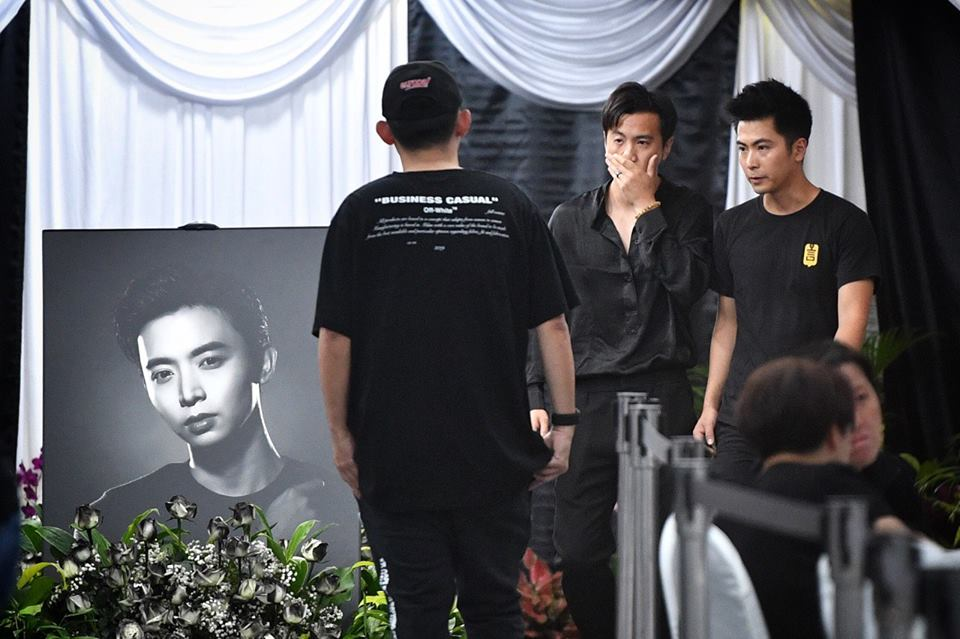 Asiaone On Twitter Aloysius Pang Memorial Service Mum
