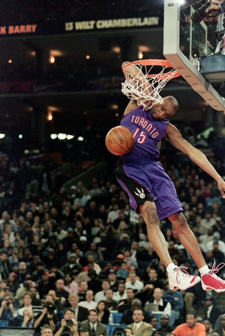 Happy birthday to dunk legend Vince Carter
