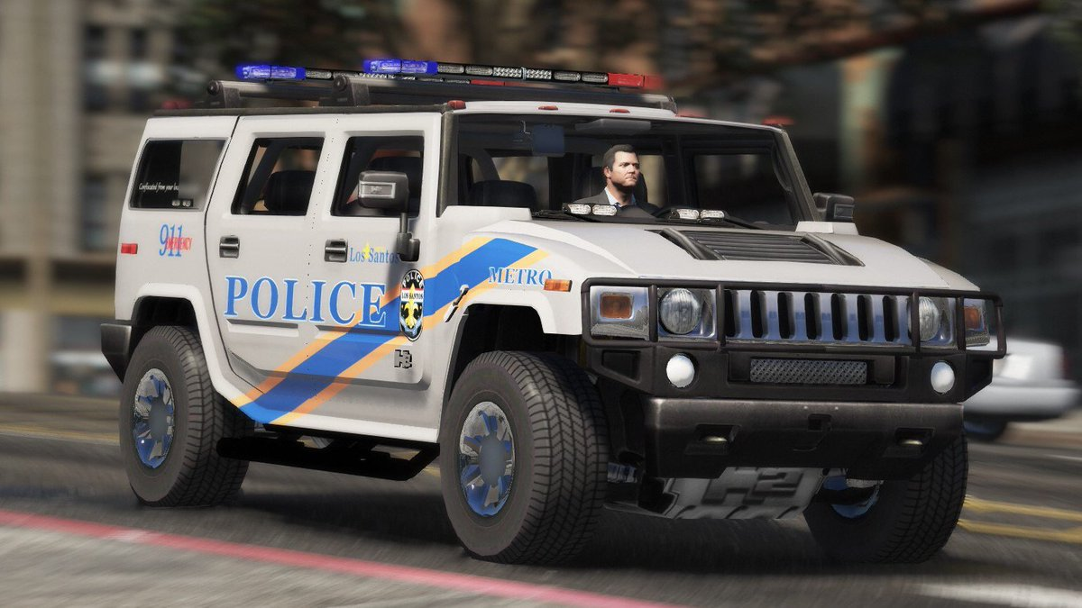 BlueGhost has recently released his Los Santos Metro Police