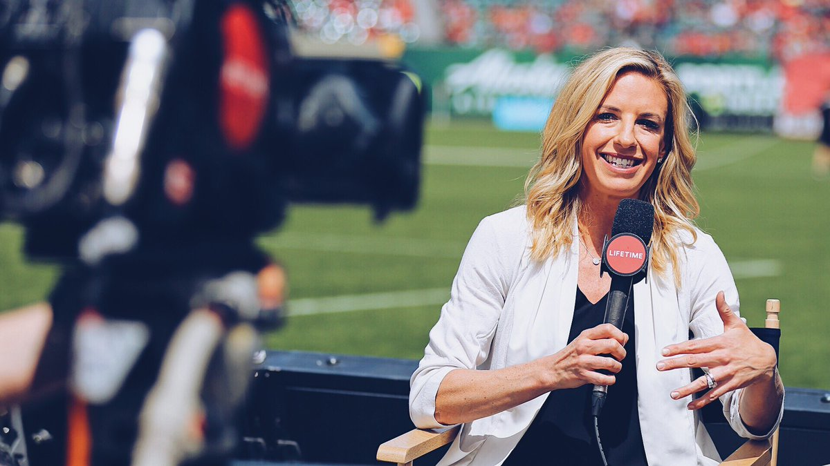 We agree. @alywagner is a badass woman changing the world.  She's on @InStyle's list with some pretty stellar company ➡️ https://nwsl.us/2Rkm2fL